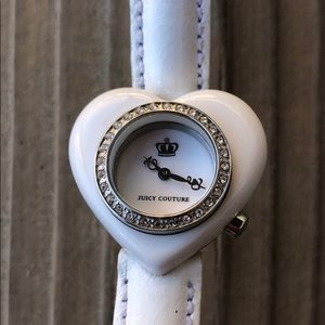 Juicy Couture Limited Edition Crystal Heart Watch!